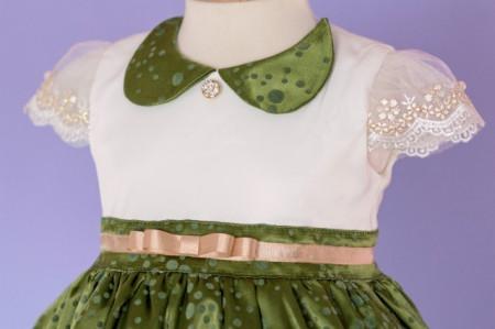 Rochita botez Green Summer