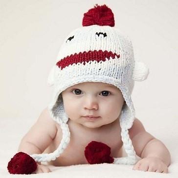 Caciula crosetata bebelusi Maimutica vesela