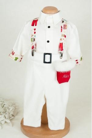 Costum baieti Santa's Little Helper