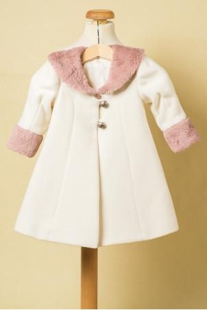 Palton pentru fete Quartz Rose