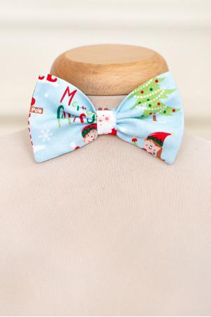 Papion baieti Christmas Elf