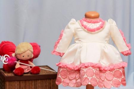 Rochita botez Baby Pink