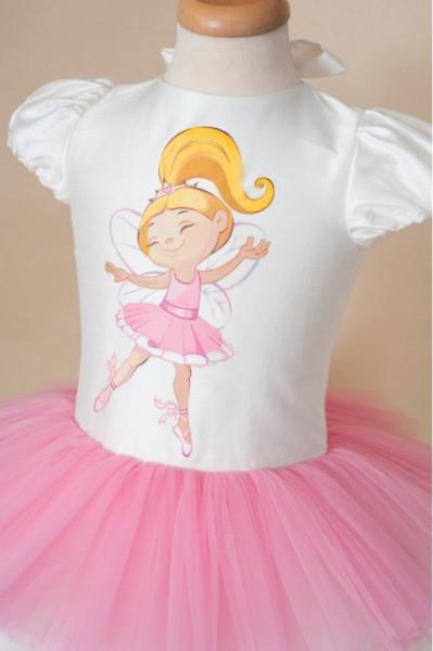 Rochita eleganta lux Little Ballerina