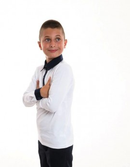 Bluza scoala contrast Mihai
