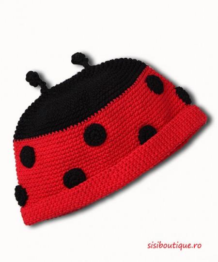 Caciula tricotata copii Mamaruta