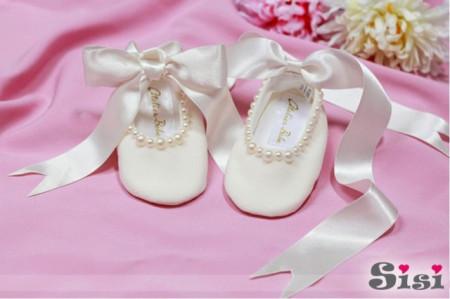 Pantofi bebelusi Mica Perla