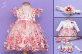 Set botez Touch of Flowers