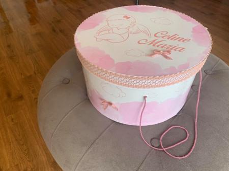 Cutie trusou personalizata Pink Angel Baby