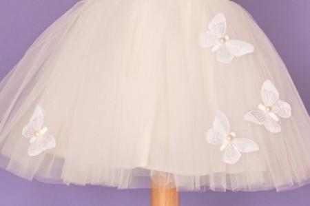 Rochita botez White Butterfly