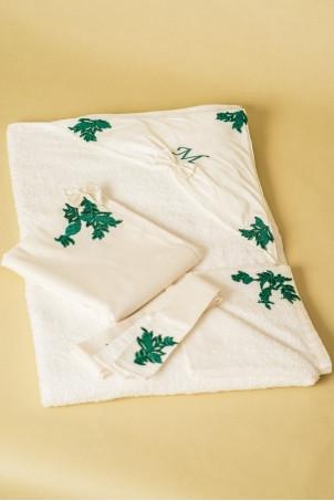 Trusou Jade Forest - Set de botez pentru bebe