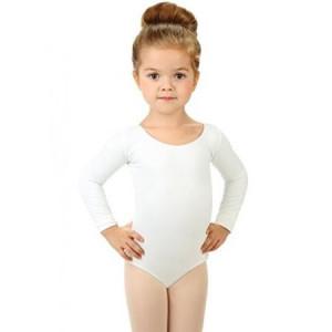 Body balet fete alb