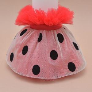 Lumanare de botez personalizat Lovely Ladybug