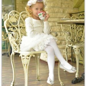 Rochita de gala Princess in White