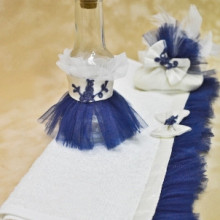 Set botez preot Blue Kitty