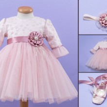 Set botez roz pudra'Pretty Little Pink'