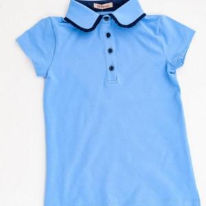 Tricou scoala albastru fete Daria