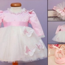 Set botez Pink Butterfly