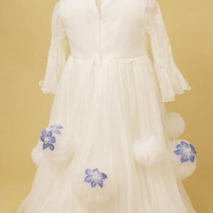 Rochie eleganta Flower Snowballs