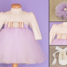 Set botez Dream in Purple