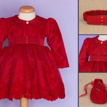 Set botez My lady in red