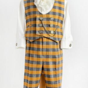 Costum baieti de lux Golden Tweed