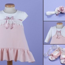 Set botez 4 piese Candy Bell