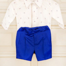 Costum baieti lux Royal Blue Boy