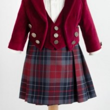 Costum elegant cu fusta James of Scotland