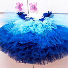 Fusta Tutu Bebe Blue Cloud