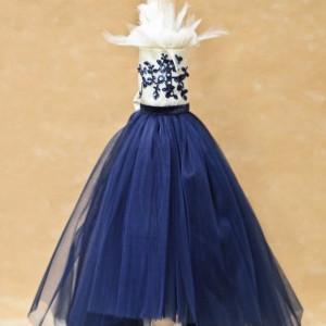 Trusou botez Blue Kitty- lumanare botez