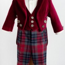 Costum baietei lux James of Scotland