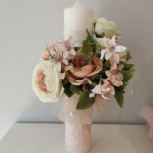 Lumanare botez Bouquet Treasure