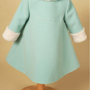 Palton stofa Blue Natalie