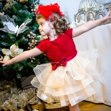 Rochie fete Beautiful Christmas Baby