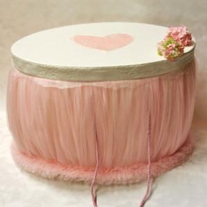 Trusou botez Cupcake- cutie ovala trusou