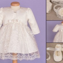 Set botez Baby Lace