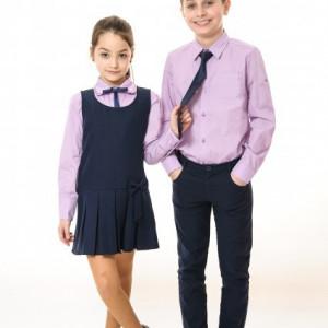 Camasa scoala fete Ella violet