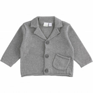 Cardigan tricotat baieti botez iDo 3174