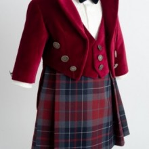 Costum elegant cu fusta James of Scotland