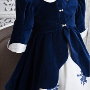 Palton botez fete Amelie