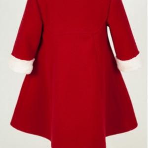 Palton de Craciun de lux Natalie