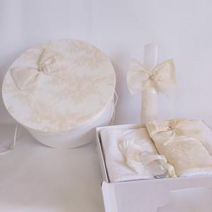 Trusou botez fete Vanilla Cream
