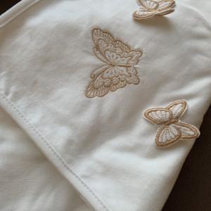 Trusou botez Ivory Butterfly