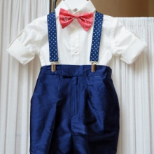 Costum botez Funky Baby Blue