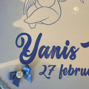 Cutie trusou personalizata Blue Angel Baby