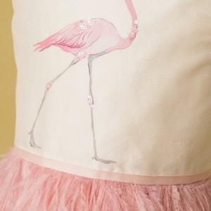 Rochie de lux Pink Flamingo