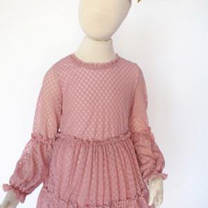 Rochie roz pal Gina