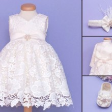 Set botez 4 piese Angel Wings