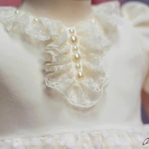 Set botez Little White Rose