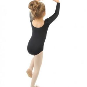 Body balet fete negru SFK